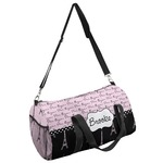 Paris Bonjour and Eiffel Tower Duffel Bag (Personalized)