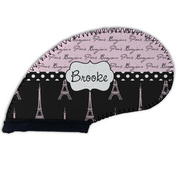 Paris Bonjour and Eiffel Tower Golf Club Cover (Personalized)
