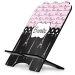 Paris Bonjour and Eiffel Tower Stylized Tablet Stand (Personalized)