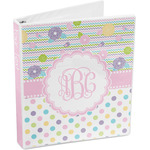 Girly Girl 3-Ring Binder (Personalized)