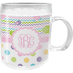 Girly Girl Acrylic Kids Mug (Personalized)