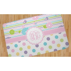 Girly Girl Area Rug (Personalized)