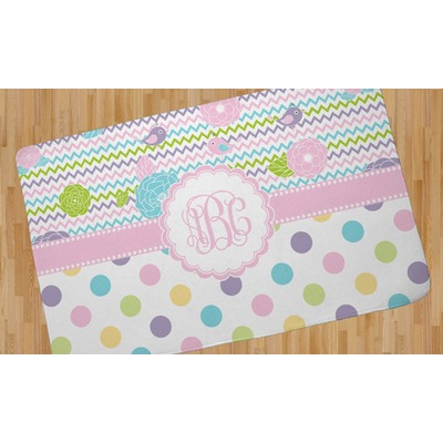 girly girl area rug 4 39 x5 39 personalized you customize it