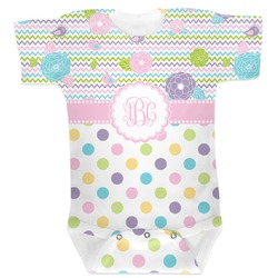 Girly Girl Baby Bodysuit (Personalized)
