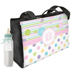 Girly Girl Diaper Bag (Personalized)