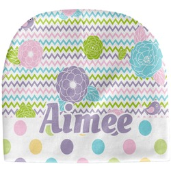 Girly Girl Baby Hat (Beanie) (Personalized)
