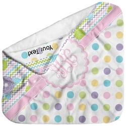 Girly Girl Baby Hooded Towel (Personalized)