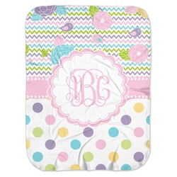 Girly Girl Baby Swaddling Blanket (Personalized)