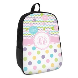 Girly Girl Kids Backpack (Personalized)