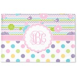 Girly Girl Woven Mat (Personalized)
