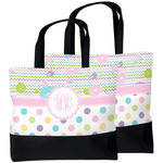 Girly Girl Beach Tote Bag (Personalized)