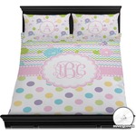 Girly Girl Duvet Cover Set (Personalized)