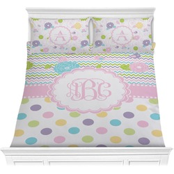 Girly Girl Comforter Set (Personalized)