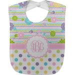 Girly Girl Baby Bib (Personalized)