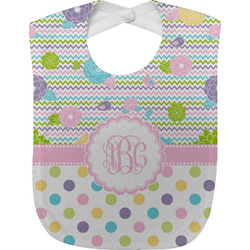 Girly Girl Baby Bib (Personalized)