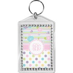 Girly Girl Bling Keychain (Personalized)