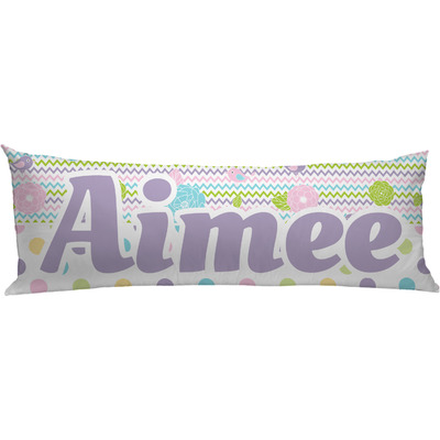 Girly Girl Body Pillow Case (Personalized)