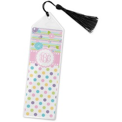 Girly Girl Book Mark w/Tassel (Personalized)