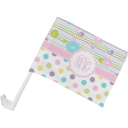 Girly Girl Car Flag (Personalized)