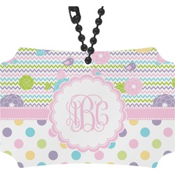 Girly Girl Rear View Mirror Ornament (Personalized)