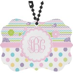 Girly Girl Rear View Mirror Charm (Personalized)