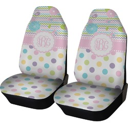 Girly Girl Car Seat Covers (Set of Two) (Personalized)