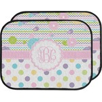 Girly Girl Car Floor Mats (Back Seat) (Personalized)