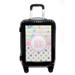 Girly Girl Carry On Hard Shell Suitcase (Personalized)