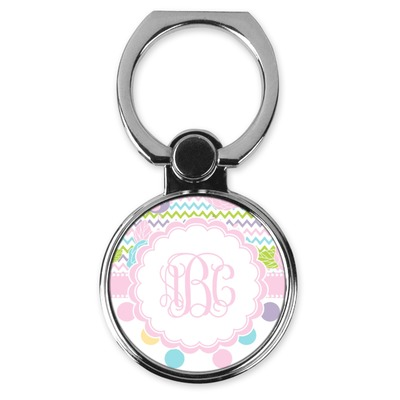 Girly Girl Cell Phone Ring Stand & Holder (Personalized)