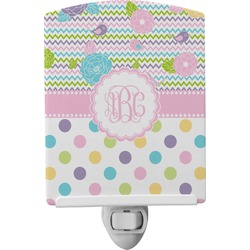 Girly Girl Ceramic Night Light (Personalized)