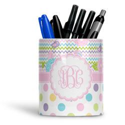 Girly Girl Ceramic Pen Holder