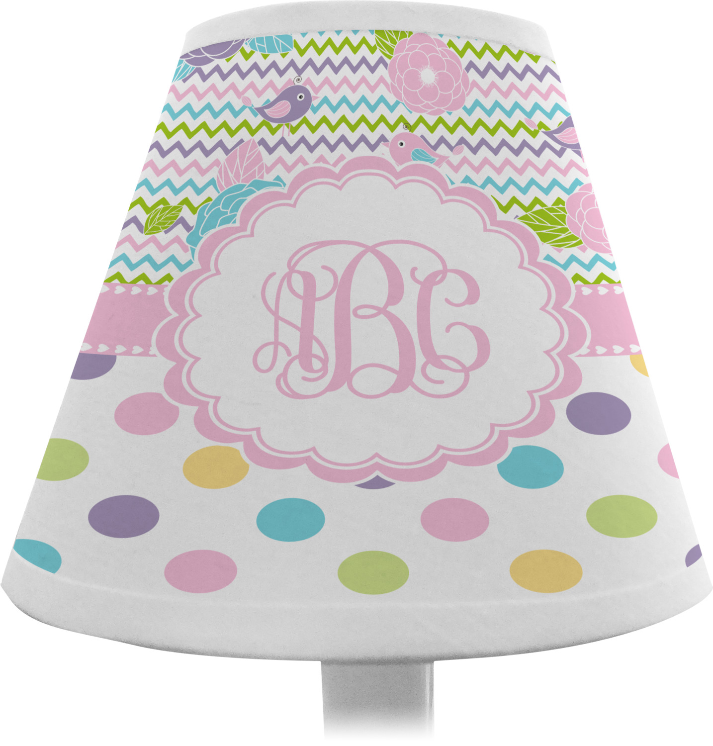Girly Lamps For Bedroom: Girly Girl Chandelier Lamp Shade (Personalized