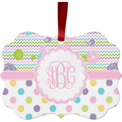 Girly Girl Ornament (Personalized)