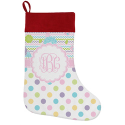 Girly Girl Holiday / Christmas Stocking (Personalized)
