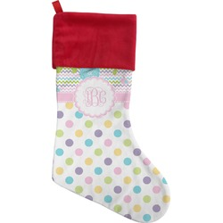 Girly Girl Christmas Stocking (Personalized)