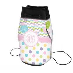 Girly Girl Neoprene Drawstring Backpack (Personalized)