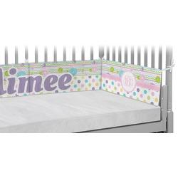 Girly Girl Crib Bumper Pads (Personalized)