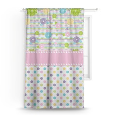 Girly Girl Curtain (Personalized)