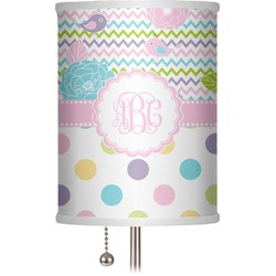 "Girly Girl 7"" Drum Lamp Shade (Personalized)"
