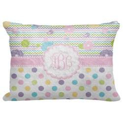 "Girly Girl Decorative Baby Pillowcase - 16""x12"" (Personalized)"