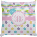 Girly Girl Decorative Pillow Case (Personalized)