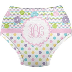 Girly Girl Diaper Cover (Personalized)