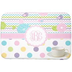 Girly Girl Dish Drying Mat (Personalized)