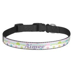 Girly Girl Dog Collar - Multiple Sizes (Personalized)