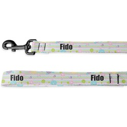 Girly Girl Deluxe Dog Leash (Personalized)