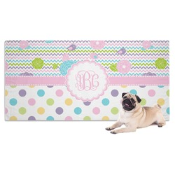 Girly Girl Dog Towel (Personalized)