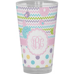 Girly Girl Drinking / Pint Glass (Personalized)