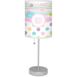 "Girly Girl 7"" Drum Lamp with Shade (Personalized)"
