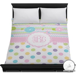 Girly Girl Duvet Cover (Personalized)