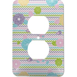 Girly Girl Electric Outlet Plate (Personalized)
